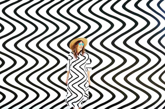 , Le Camouflage Urbain et Fashion d'une Artiste Inspirée