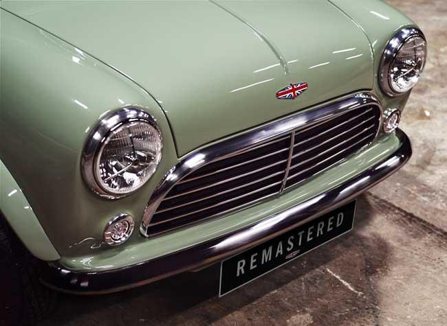 Austin Mini Remastered, Retour de la Voiture Austin Mini Originale en Remasterisée (video)