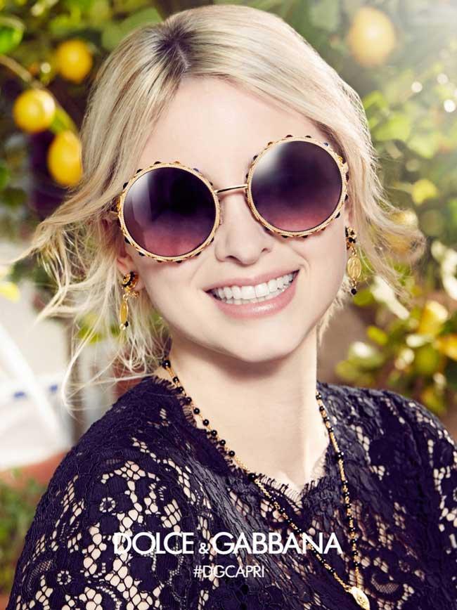 64c9484c060 Lunettes de Soleil Femme Dolce Gabbana avec Sonia Ben Ammar ...