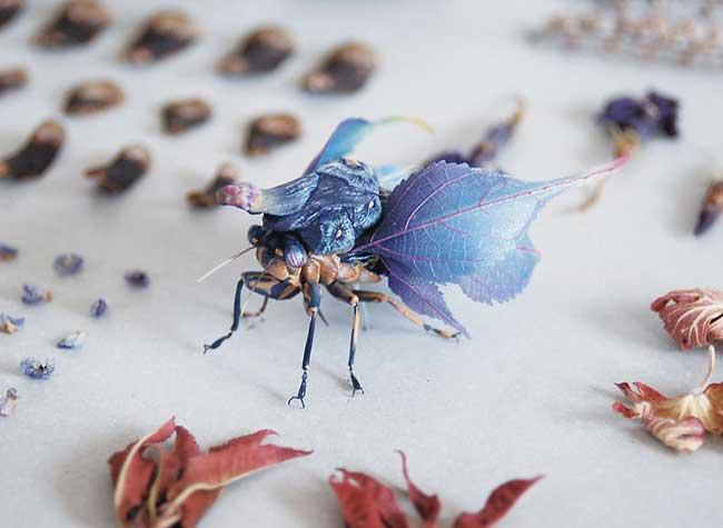 Sculptures Insectes Resine Hirosho Shinno