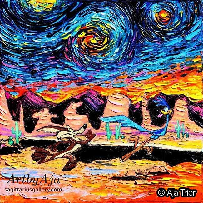 Aja Trier Van Gogh Pop Culture, Quand la Pop Culture Envahit les Toiles de Van Gogh