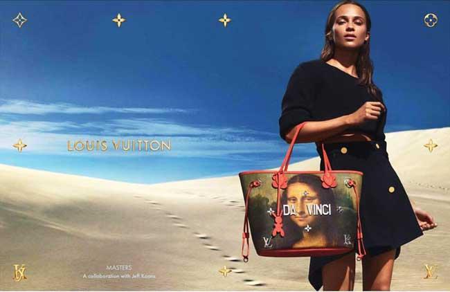 jeff koons louis vuitton campagne art sacs 1 - Jeff Koons Habille de Toiles de Maîtres les Sacs Louis Vuitton