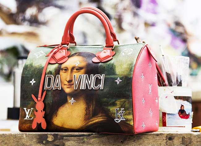 jeff koons louis vuitton campagne art sacs 4 - Jeff Koons Habille de Toiles de Maîtres les Sacs Louis Vuitton