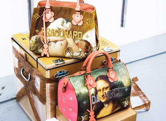 jeff koons louis vuitton campagne art sacs 5 - Jeff Koons Habille de Toiles de Maîtres les Sacs Louis Vuitton