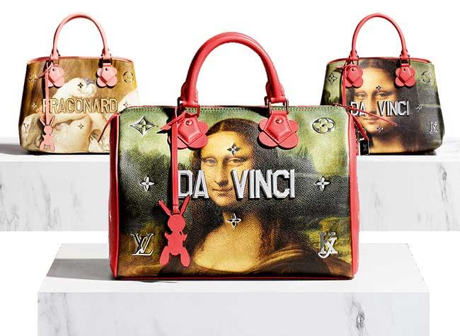 jeff koons louis vuitton campagne art sacs 6 - Jeff Koons Habille de Toiles de Maîtres les Sacs Louis Vuitton