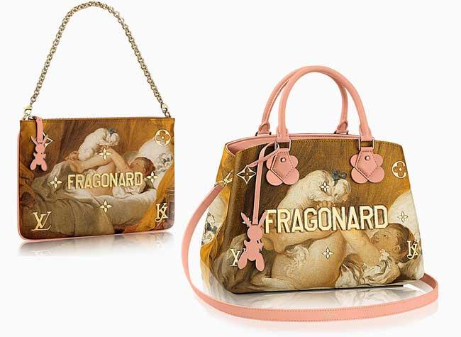 jeff koons louis vuitton campagne art sacs 7 - Jeff Koons Habille de Toiles de Maîtres les Sacs Louis Vuitton