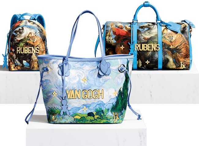jeff koons louis vuitton campagne art sacs 8 - Jeff Koons Habille de Toiles de Maîtres les Sacs Louis Vuitton