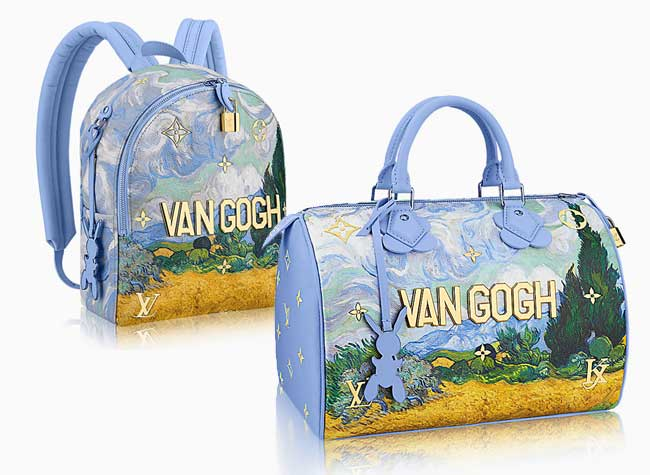 jeff koons louis vuitton campagne art sacs 9 - Jeff Koons Habille de Toiles de Maîtres les Sacs Louis Vuitton
