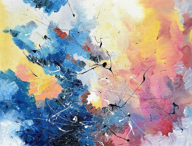 Art Synesthésie Melissa McCracken, Atteinte de Synesthésie, elle Peint les plus Populaires Musiques