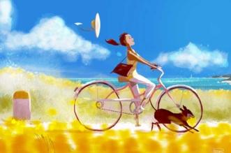 Les Beaux Jours Poétiquement Illustrés par Pascal Campion