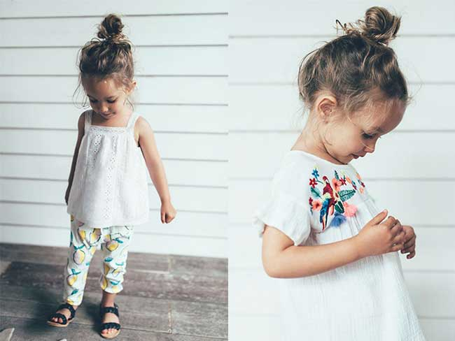 Zara Girls Filettes Enfants Ete 2017
