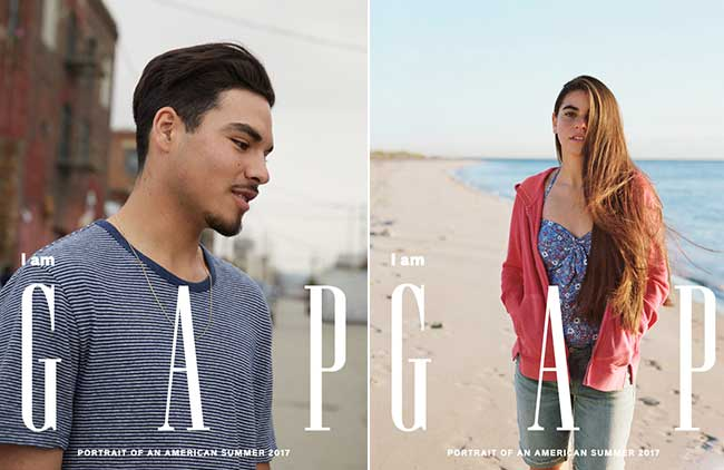, Cowboy et Hidjab dans la Dernière Campagne GAP (video)