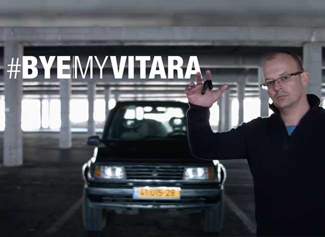, Il Produit une Fausse Pub pour Vendre sa Suzuki Vitara 96 (video)