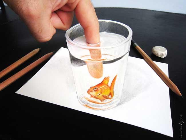 , Les Dessins 3D de cet Artiste Jaillissent Littéralement du Papier