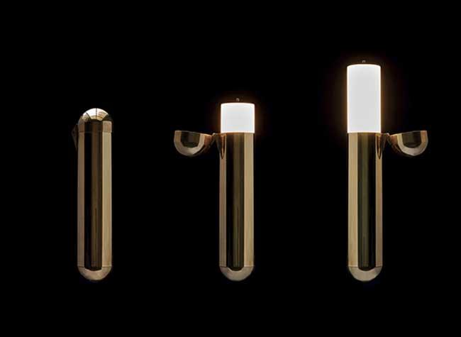 , Une Lampe d'Ambiance Modulaire dans une Capsule (video)