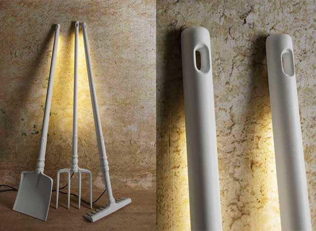 TOBIA Outils Jardins Lampes