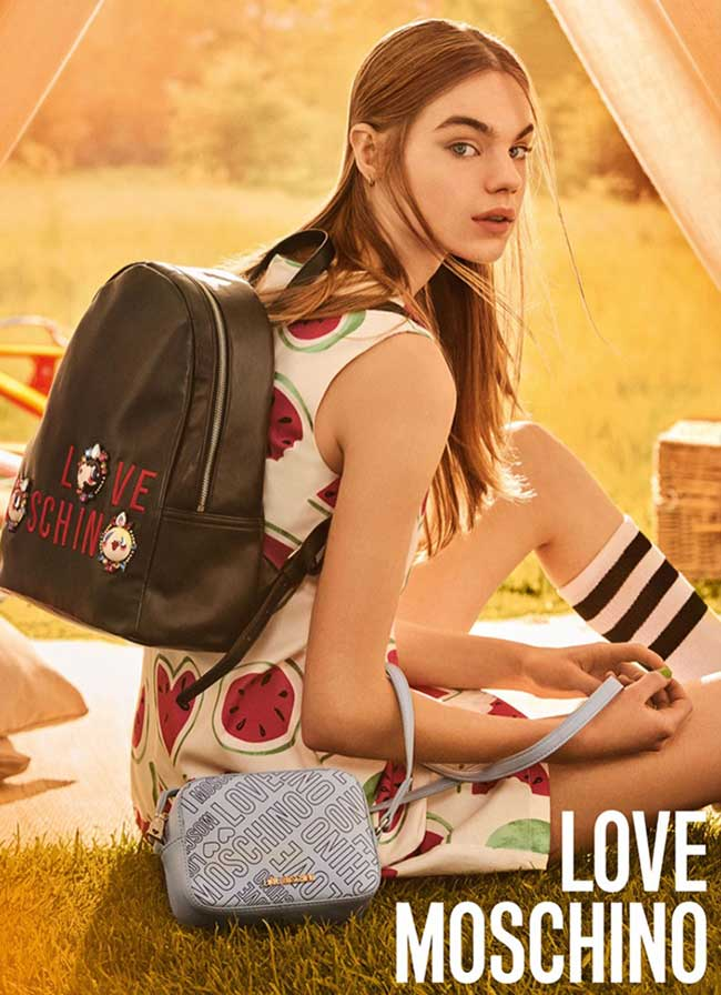 Campagne Love Moschino Ete 2017