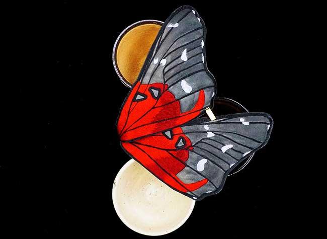 , Pochettes Brodées en Papillons pour Hommes Elegants (video)