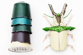 Insectes Capsules Cafe Sculpture