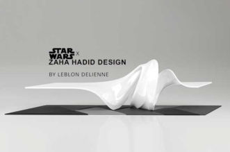 Table Star Wars Zaha Hadid Leblon Delienne