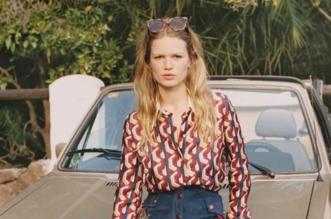 Anna Ewers Mode Femme Annee 70