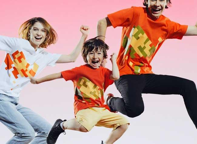Uniqlo Nintendo T-Shirts Mario