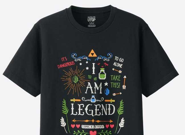 , Des Personnages Nintendo sur les T-Shirts Uniqlo (video)