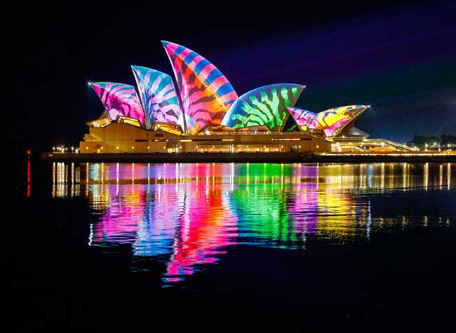 Vivid Sydney Fete Lumieres Australie