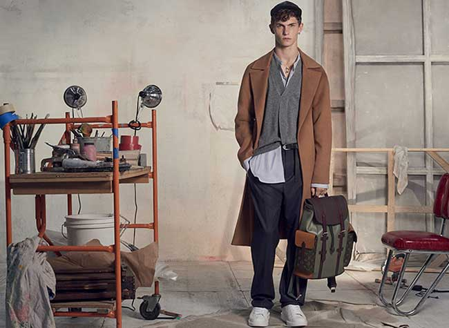 Campagne Louis Vuitton Homme Hiver 2017 2018
