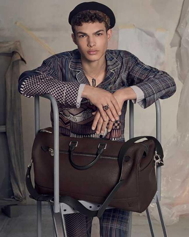 Campagne Louis Vuitton Homme Hiver 2017 2018, Louis Vuitton Homme Joue les Artistes pour l'Hiver Prochain