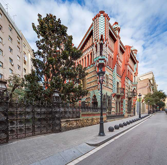 casa vicens ouverture public 1 - Casa Vicens la Première Grande Oeuvre d'Antoni Gaudi Ouvre enfin au Public