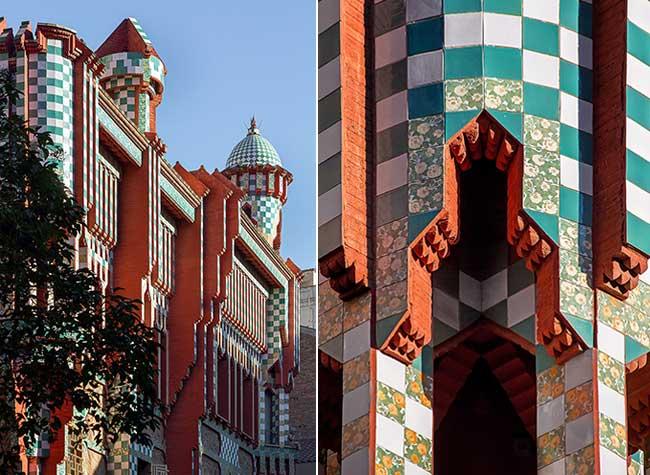 casa vicens ouverture public 4 - Casa Vicens la Première Grande Oeuvre d'Antoni Gaudi Ouvre enfin au Public