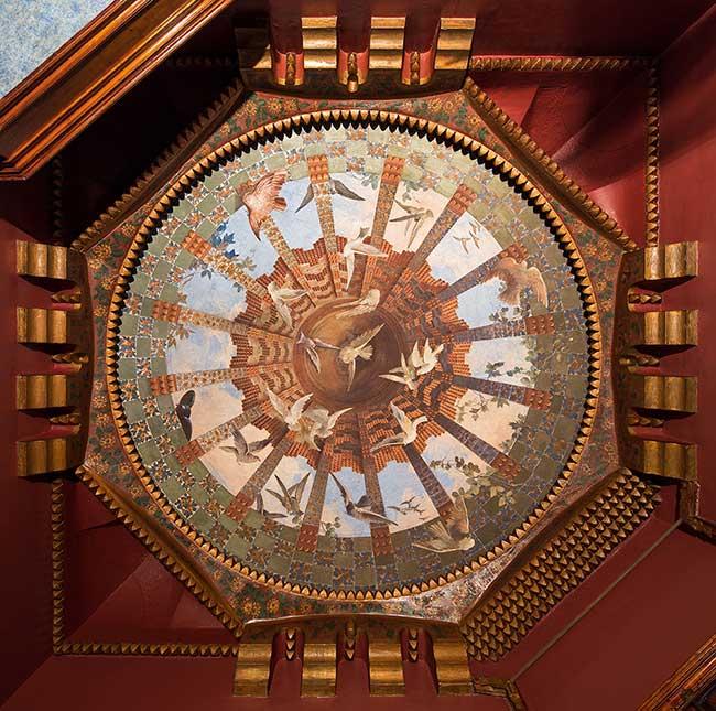 casa vicens ouverture public 5 - Casa Vicens la Première Grande Oeuvre d'Antoni Gaudi Ouvre enfin au Public