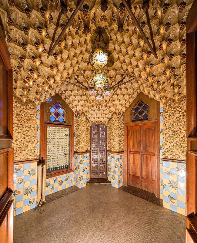 casa vicens ouverture public 6 - Casa Vicens la Première Grande Oeuvre d'Antoni Gaudi Ouvre enfin au Public