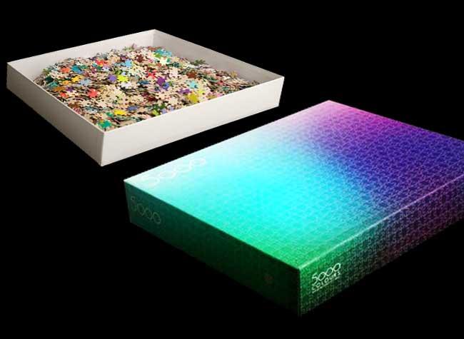 Jeu Puzzle Chromatique Clemens Habicht