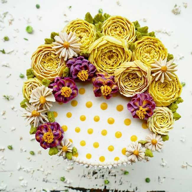 Gateaux Fleurs Culinary Dots Juliana Tar