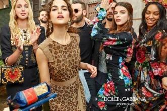 Campagne Dolce Gabbana Femme Hiver 2017 2018