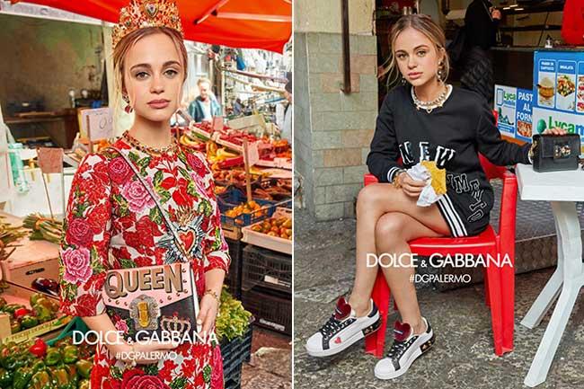 , Encore des Millennials chez Dolce Gabbana l'Hiver Prochain