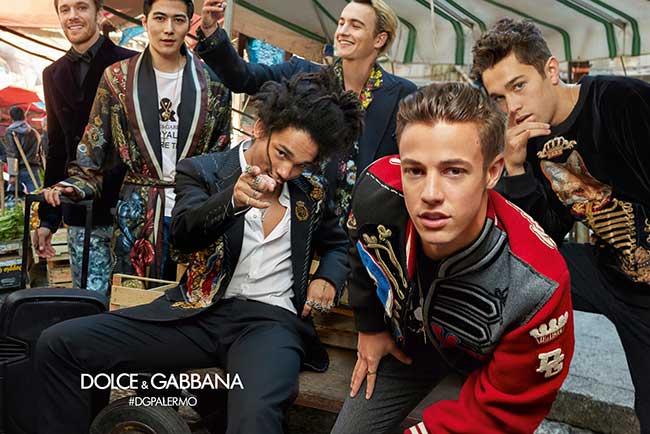 , Les Hommes Dolce Gabbana de l'Hiver Prochain sont aussi des Millennials