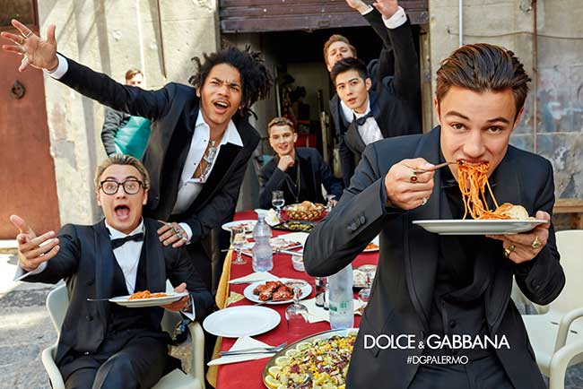 Campagne Dolce Gabbana Homme Hiver 2017 2018