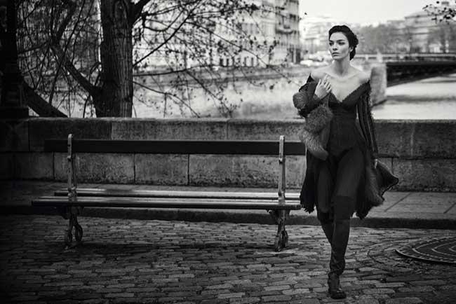ermanno scervino, Un Hiver Romantique à Paris pour Ermanno Scervino
