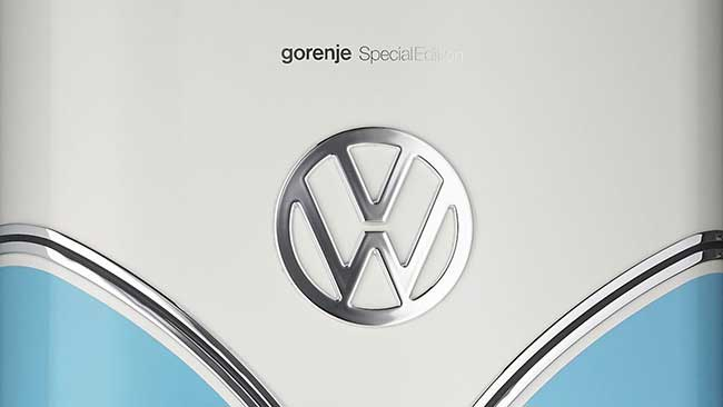 Frigo Gorenje Retro, Le Combi de Volkswagen Reincarné en Frigo Rétro (vidéo)