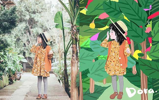 Liu Weng, Il Transforme les Photos de sa Fille en Bande Dessinée
