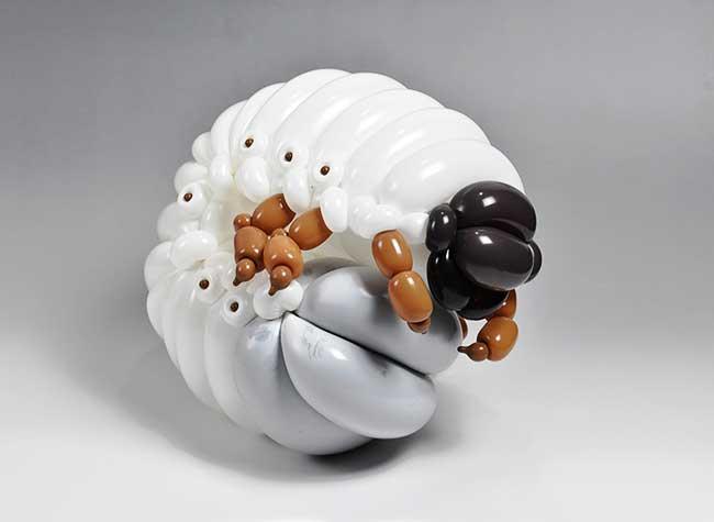 masayoshi matsumoto artiste sculpture ballons 6 - La Sculpture Animale en Ballons est un Art Vraiment Gonflé