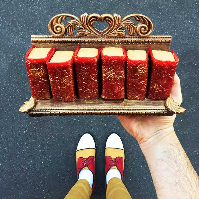, Les plus Folles Pâtisseries de Paris Coordonnées à des Chaussures Trendy
