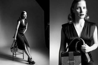 Jessica Chastain Femme Prada Campagne Hiver 2017 2018