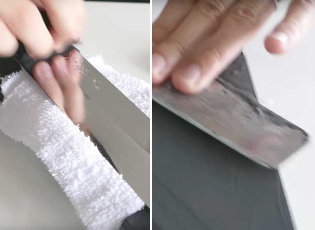 Restauration Couteau Ancien, Il  Restaure une Lame Rouillée en Couteau de Chef (video)