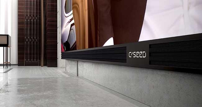 , 500 000 € le Téléviseur Samsung à Ecran Plat 4K de 6,5 mètres