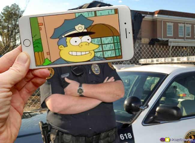 François Dourlen iPhone Simpsons Photos