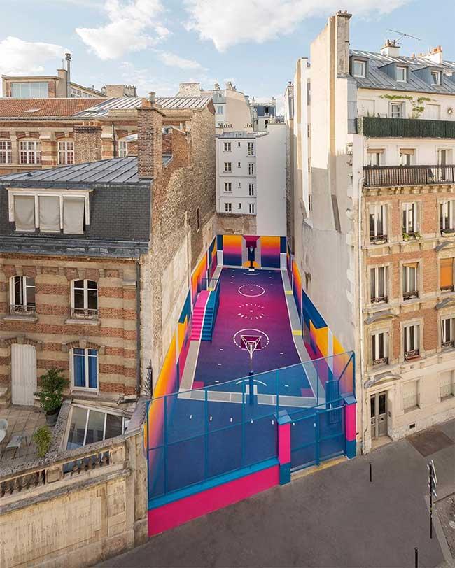 Terrain Basket Paris Duperre